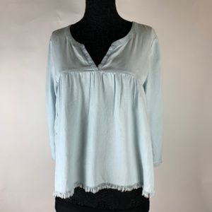 Aerie NWT Long Sleeve Boho Flowing Top Large